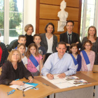 Signature de la convention UNICEF